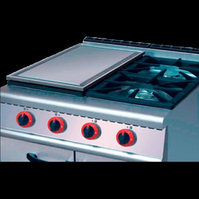 Plancha de acero adicional para cocinas de gas - Plancha de cocina para empotrar ...